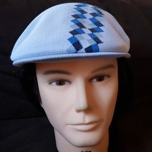 Men's kangol box argyle stripe 504 hat medium